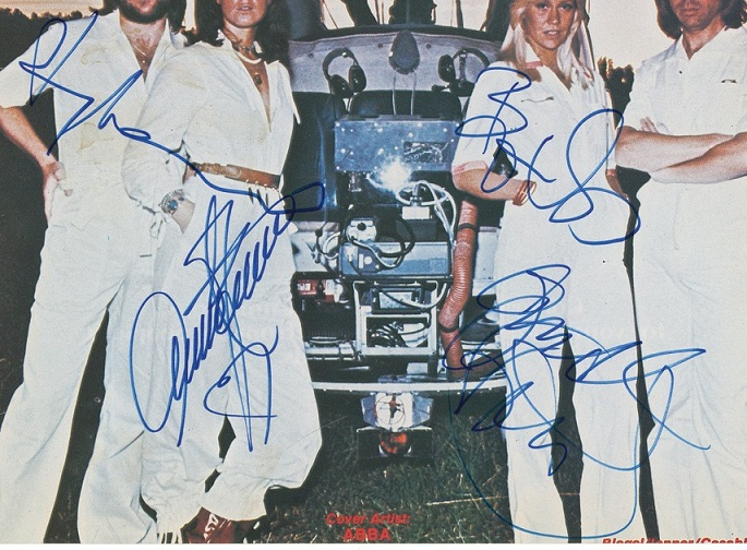 ABBA Authentic Autographs