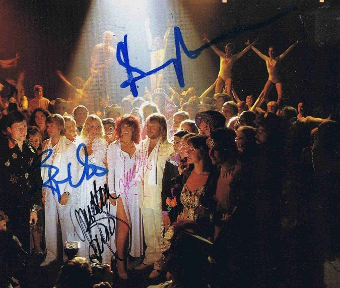 abba autographs for sale
