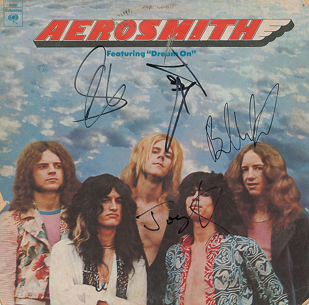 Aerosmith Autographs