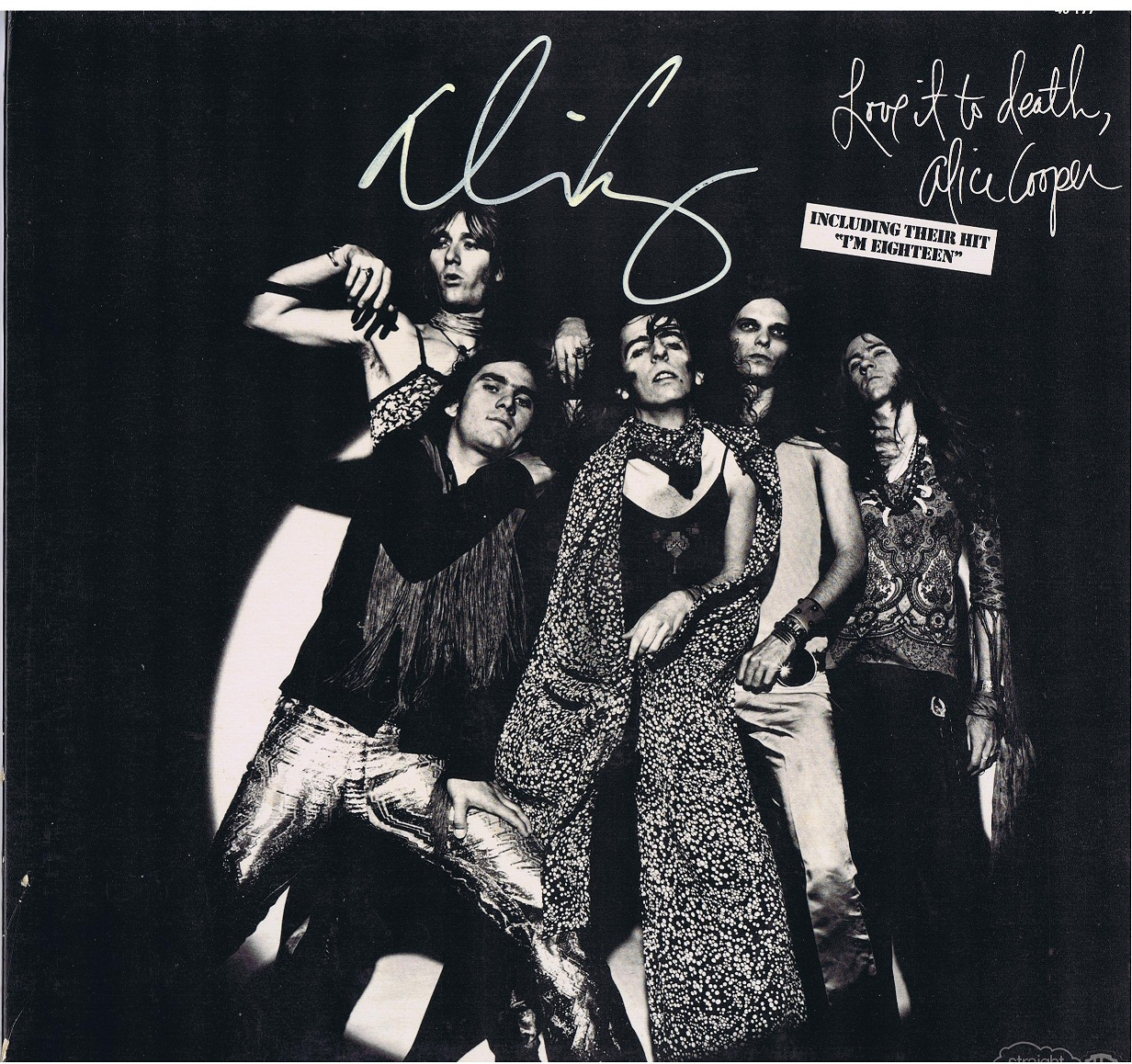 Alice Cooper Autograph Examples