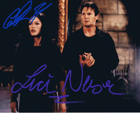 Catherine Zeta Jones Autograph