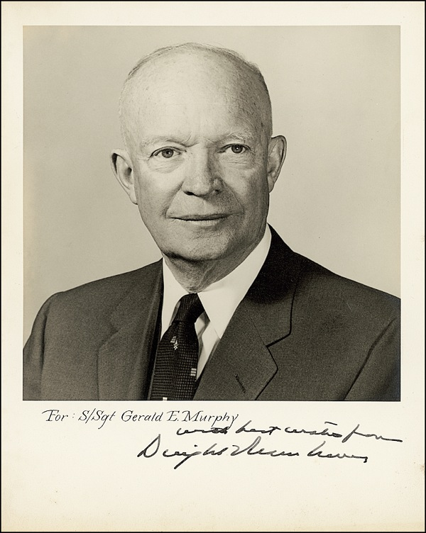 Dwight D Eisenhower Autograph