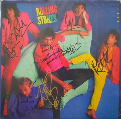 The Rolling Stones Autographs