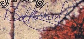 Bill ward autograph 1970