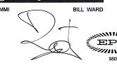 Bill ward autograph 1998 1