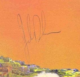 John Bonham autograph 1977