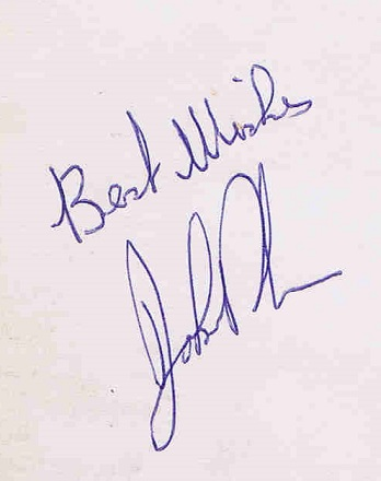 John Bonham autograph 2