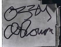 Ozzy Osbourne autograph 6