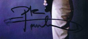 Pete Townshend autograph 2