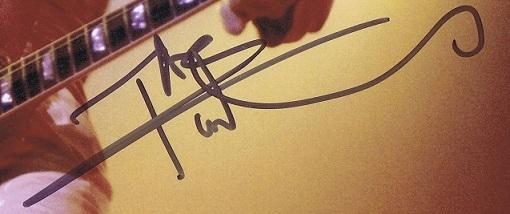 Pete Townshend autograph 3
