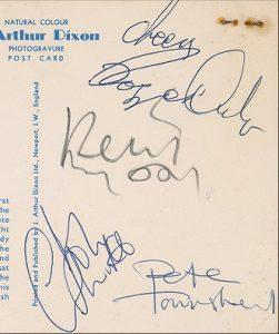The Who Autographs