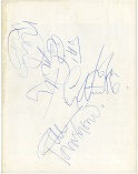 The Who autographs 66