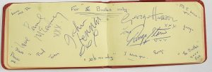 The Beatles Autographs 1963