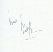 bill wyman autograph 2001