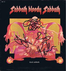black sabbath autographs 6