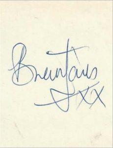 brian jones autograph 1963
