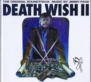 Jimmy Page autograph death wish