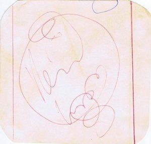 keith moon autograph