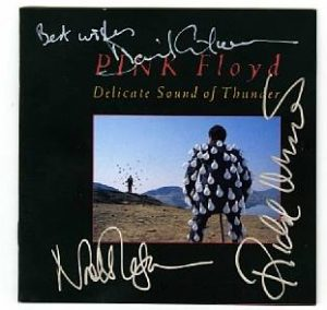 pink floyd autograph cd
