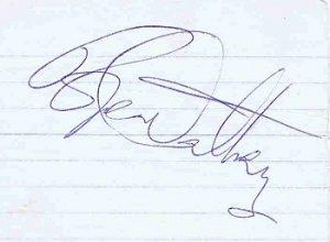 roger daltrey autograph 3