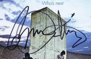 roger daltrey autograph