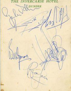 rolling stones autograph 1964 4