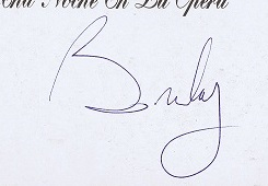 Brian May Autographs and autograph examples | queen autographs