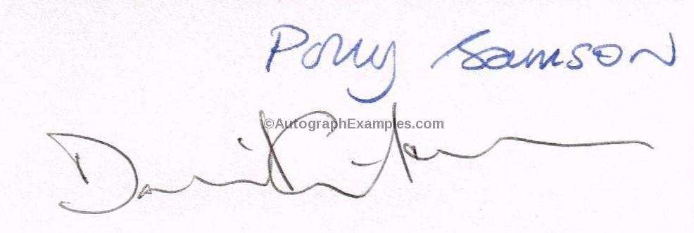 David Gilmour autograph Pink Floyd
