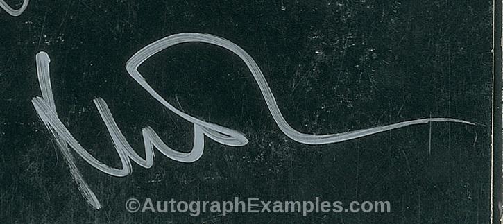 Nick Mason autograph pinkfloyd