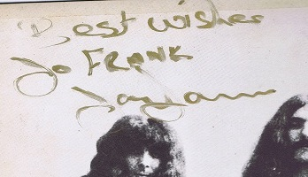 Tony Iommi Autographs Black Sabbath