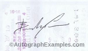 Brandon Lee Autographs