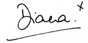 Princess Diana Autographs and Autograph Examples | Royalty