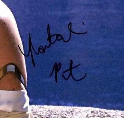 Natalie Portman authentic autograph