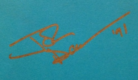 John Deacon autograph