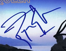 roger taylor autographs from queen 1