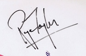 roger taylor autographs from queen 2